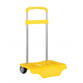 Carro Escolar Portamochila SAFTA Grande Amarillo 30 x 85 x 23