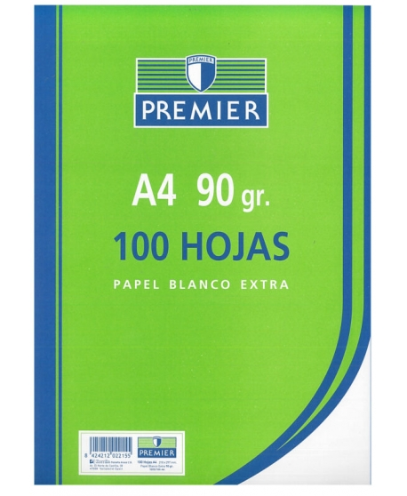 Papel TAURO Extra 90 g. Din-A4 Paquete x100 Hojas