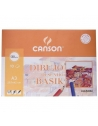 Papel Dibujo CANSON Basik A3 Liso 130 g. Pack x10 Hojas