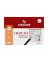 Papel Dibujo Lineal CANSON Marca Mayor A4 Liso 160 g. Pack x10